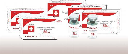 Toxina Botulínica Tipo A marca Swiss BTXA