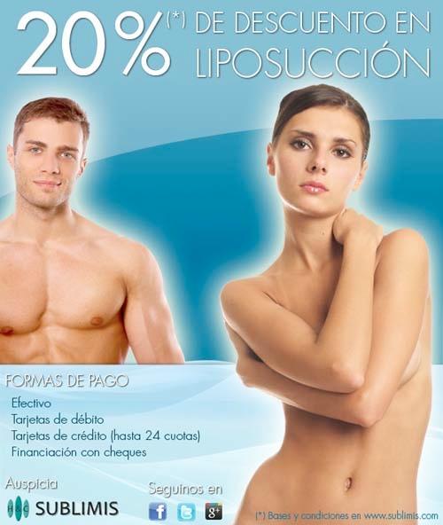 Promocion Liposuccion