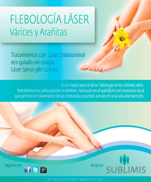 Tratamientos de Flebologia Laser en Cordoba