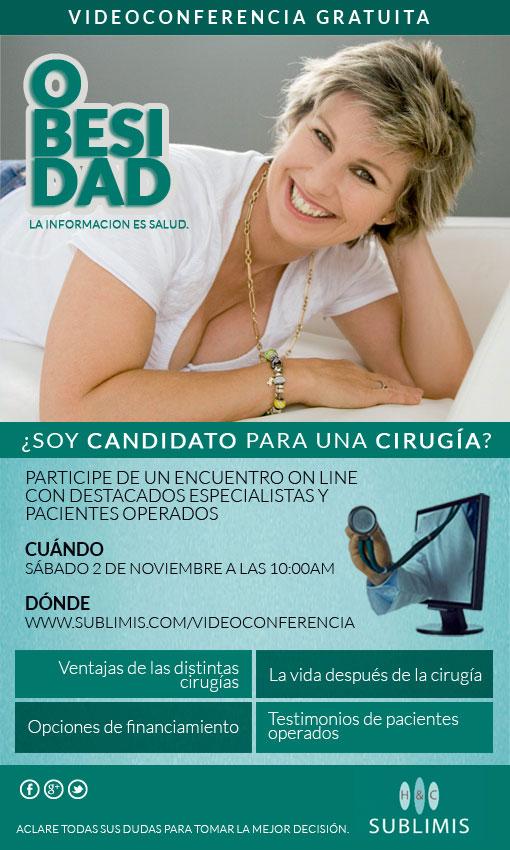 Videoconferencia Cirugia de la Obesidad