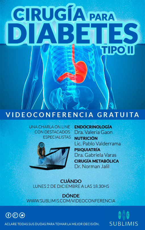 Videoconferencia Cirugia Diabetes Tipo II