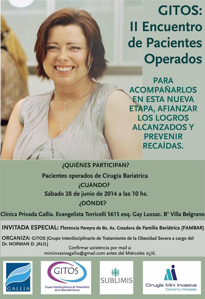Encuentro Pacientes Cirugia Bariatrica