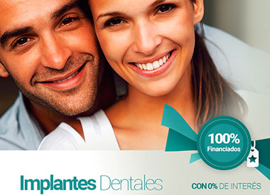 Promocion Implantes Financiados