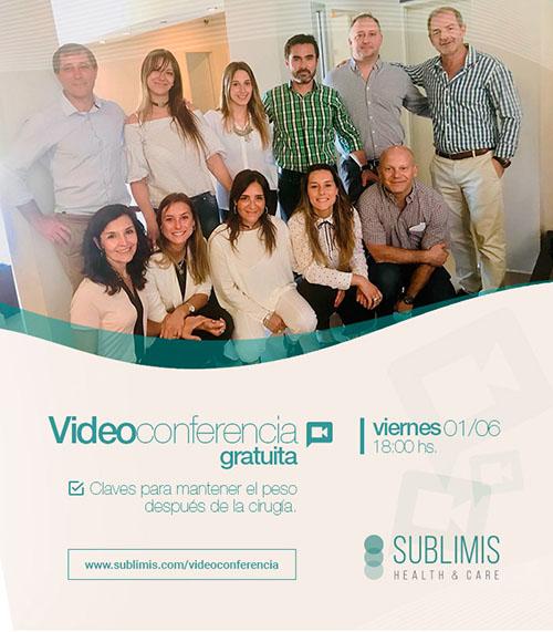 Flyer Videoconferencia Cirugía Bariátrica